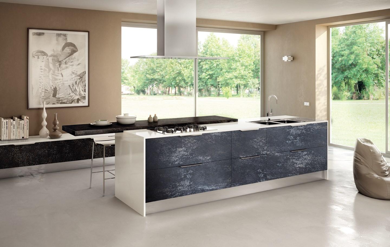 Top cucina gres cheap fuori tutto cucina record in polimerico lucido e top okite with top - Top cucina stone ...